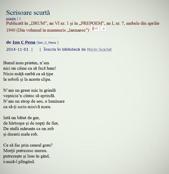 penatext4 poemtext4 scrisoare scurta
