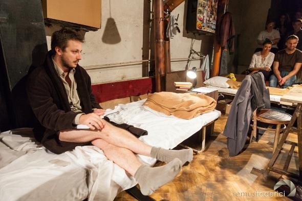 Cel mai bun actor - Matei Rotaru (Emigrantii)