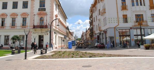 Încă un pas spre transformarea străzii Vasile Alecsandri în pietonală!