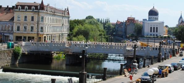Se redeschide circulația pe Podul Sfântul Ladislau. Harta noilor trasee.
