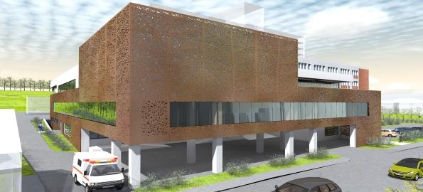 Spitalul Judeţean se extinde cu un nou corp de clădire!