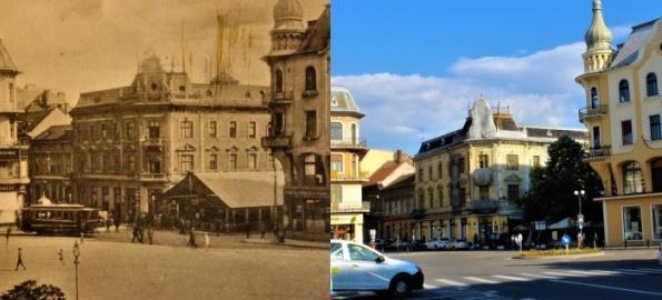 Expoziție foto inedită: Oradea de odinioară versus Oradea de astăzi!