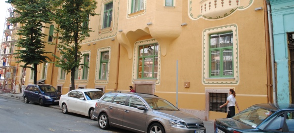 O nouă clădire aproape reabilitată – Palatul Stern
