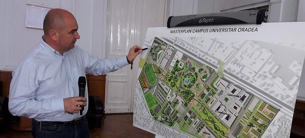 Două milioane de euro anual, pentru dezvoltarea Universității din Oradea