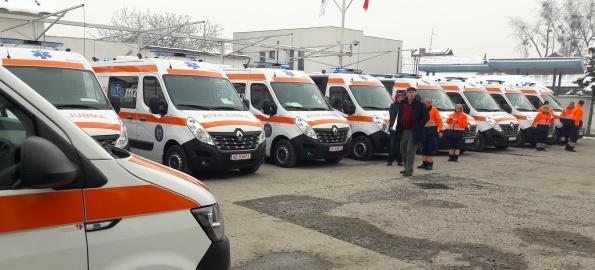 Ambulanțe noi pe străzile din Bihor!