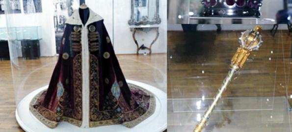 Coroana de oțel, sceptrul și mantia Regelui Ferdinand vor fi expuse la Primăria Oradea!