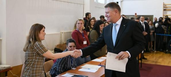 Turul I, alegeri prezidențiale în Bihor: Iohannis 36%, Dăncilă 19%, Hunor 15%, Barna 11%
