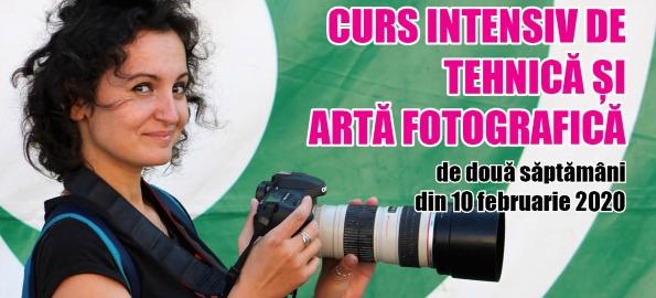 Din 10 februarie, un nou curs de artă și tehnică fotografică!